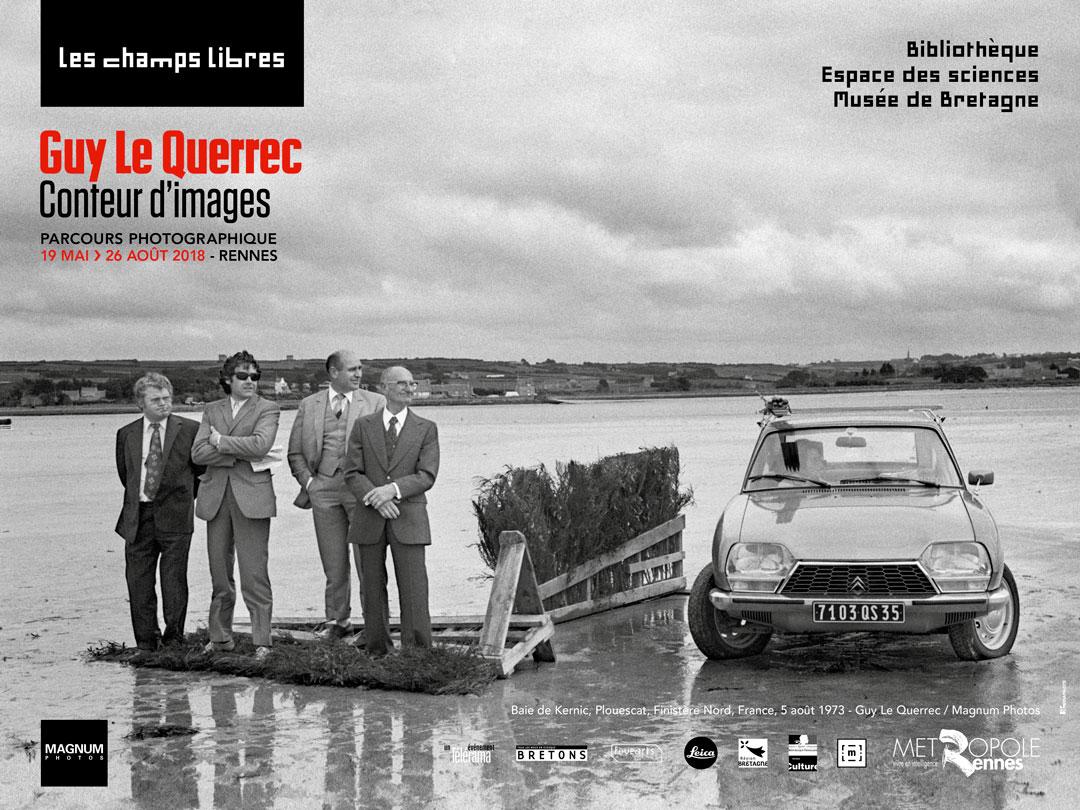 exposition Les Champs Libres musée de Bretagne Guy Le Querrec Magnum photos