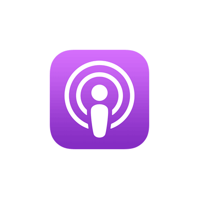 nos podcasts sur Apple Podcast