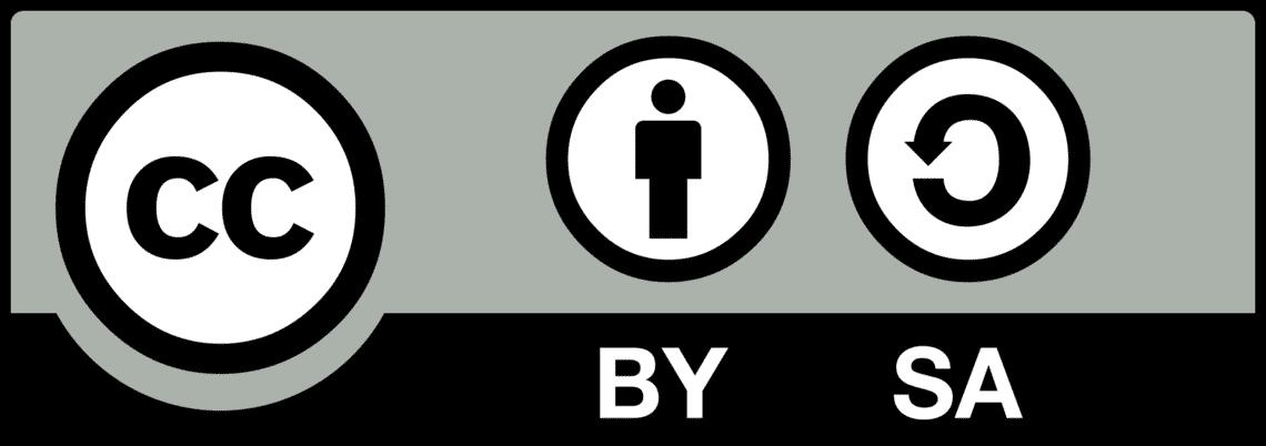 Licence Creative Commons CC BY-SA